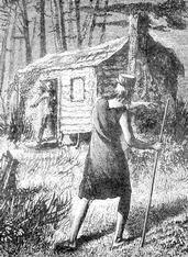 Illustration of John Chapman from Harper's Monthly.