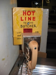 "The ""hot line"" to the controversial butchers remained off."