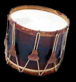 Edward's Civil War drum, now in the collection of the Children's Museum of Indianapolis.