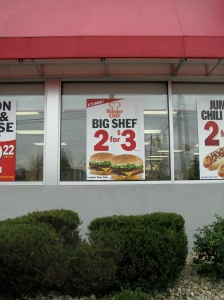 From time to time Hardee's runs a promotion bringing back the Big Shef.