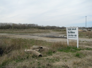 As of April 2009, the site has been completely cleared for redevelopment. The extreme northern edge of the property has already been reused for a self-storage business.