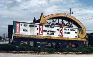 Sign in use in the summer of 1998.