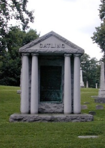 Richard Gatling's grave