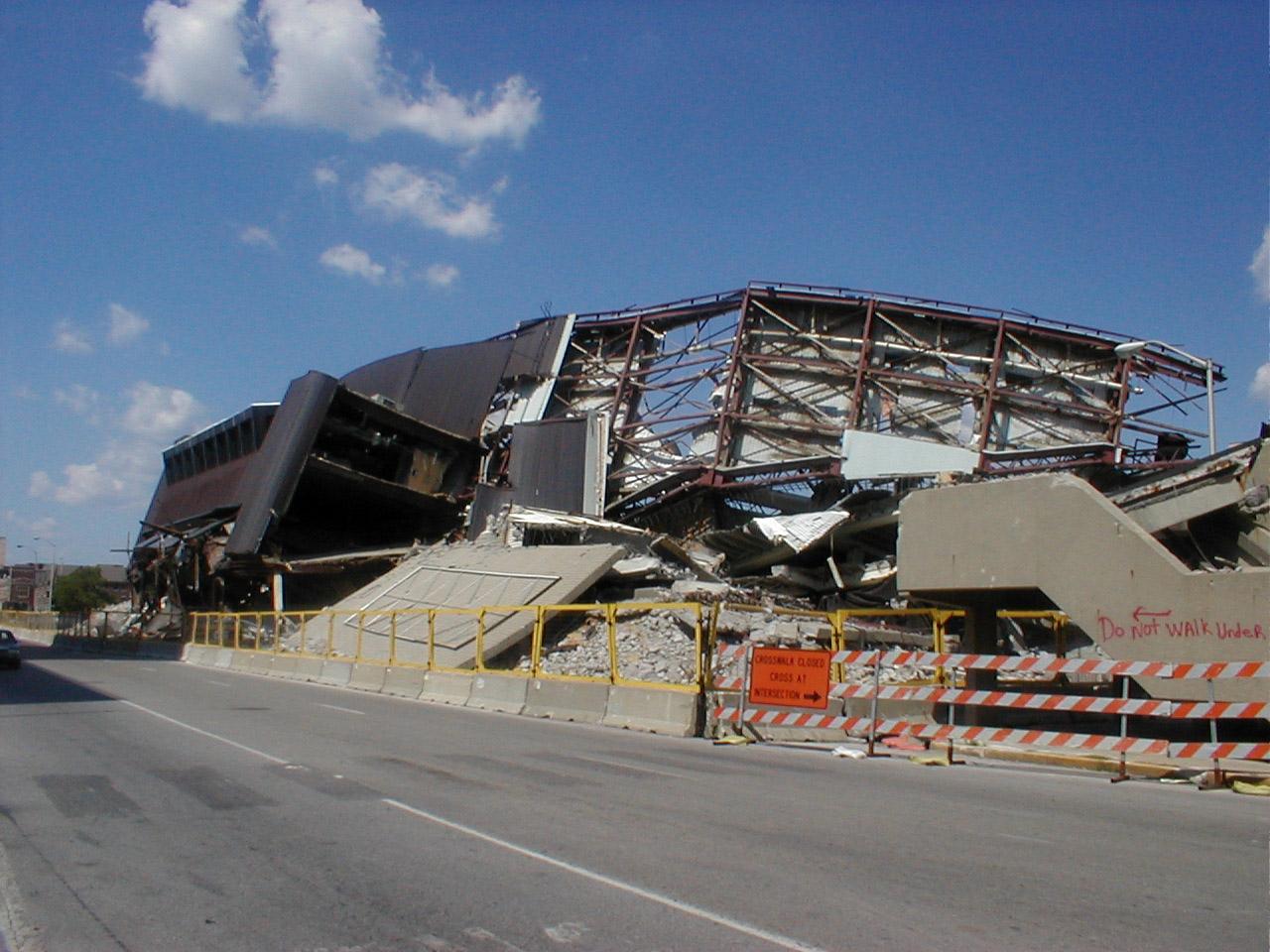 Demolition started 76