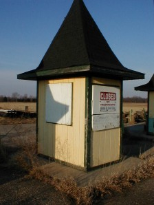 A ticket booth.