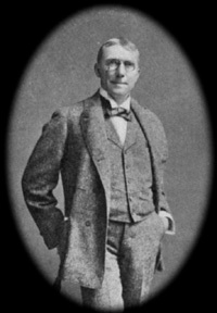 James Whitcomb Riley later in life.