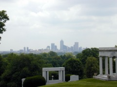 Appropriately, it has a spectacular view of downtown Indianapolis.